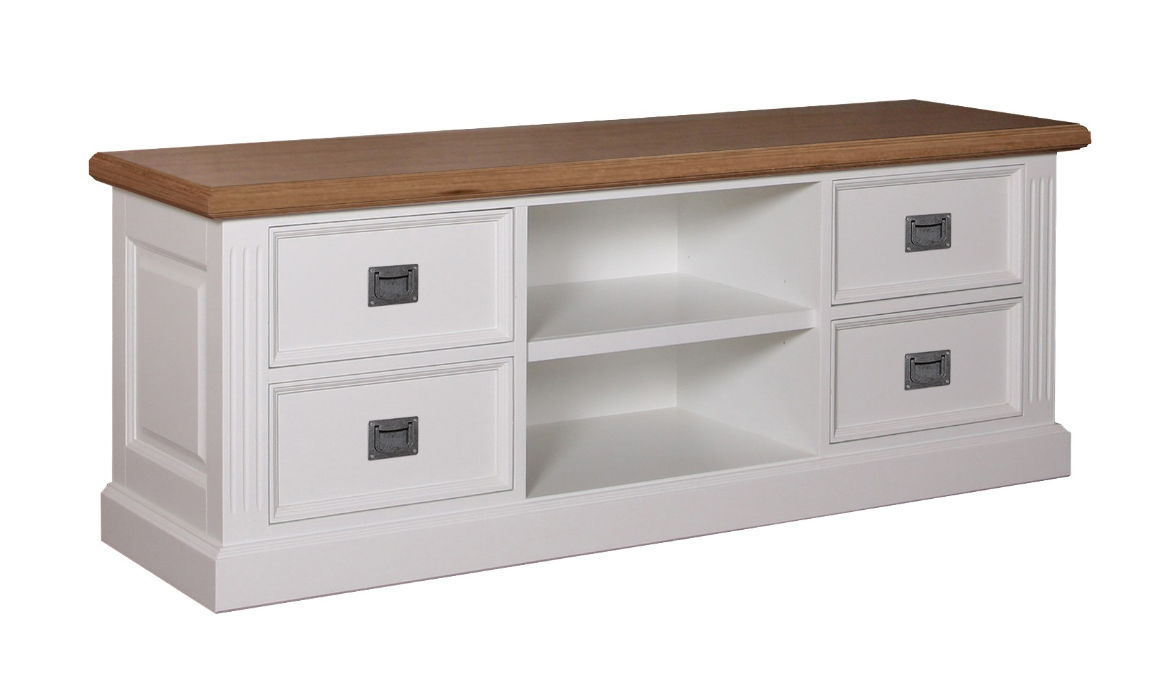 TV Dressoir Chic Oak 4 laden