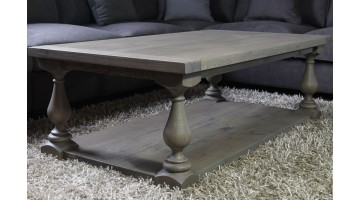 Salontafel Eiken Balusterpoot